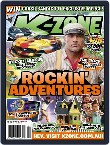 K-Zone (Digital) July 1st, 2021 Issue Cover