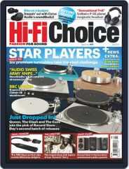 Hi-Fi Choice (Digital) Subscription July 1st, 2021 Issue