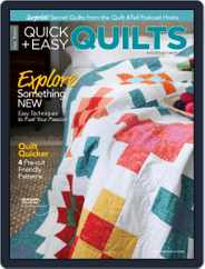 Quick+Easy Quilts (Digital) Subscription August 1st, 2021 Issue
