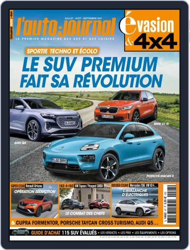 L'Auto-Journal 4x4 (Digital) June 1st, 2021 Issue Cover
