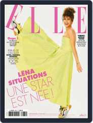 Elle France (Digital) Subscription June 18th, 2021 Issue