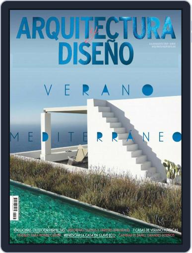 Arquitectura Y Diseño (Digital) July 1st, 2021 Issue Cover
