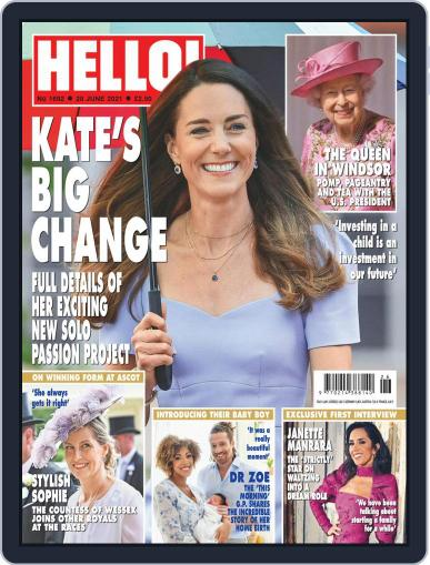 Hello! (Digital) June 28th, 2021 Issue Cover