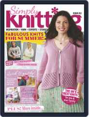 Simply Knitting (Digital) Subscription August 1st, 2021 Issue