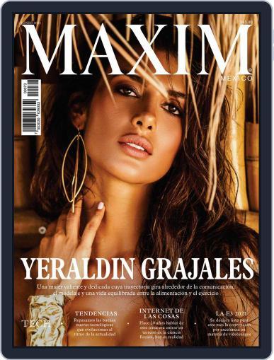 Maxim México (Digital) June 1st, 2021 Issue Cover