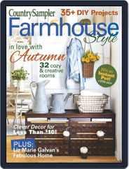 Country Sampler Farmhouse Style Magazine (Digital) Subscription September 1st, 2021 Issue