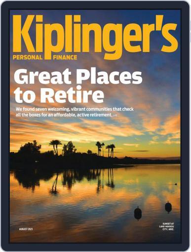 Kiplinger's Personal Finance (Digital) August 1st, 2021 Issue Cover