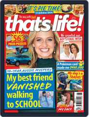 that's life! (Digital) Subscription July 1st, 2021 Issue