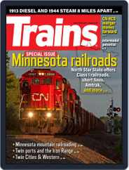 Trains (Digital) Subscription August 1st, 2021 Issue