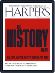 Harper's (Digital) Subscription July 1st, 2021 Issue