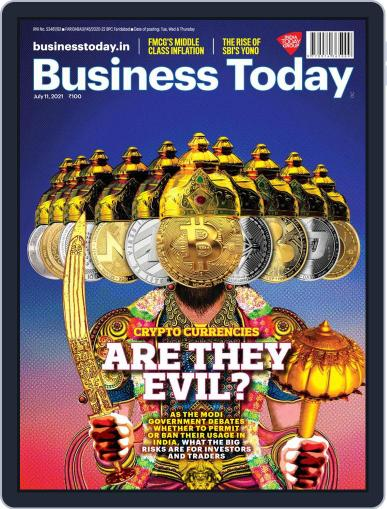 Business Today (Digital) July 11th, 2021 Issue Cover