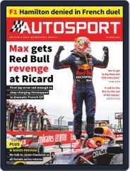 Autosport (Digital) Subscription June 24th, 2021 Issue