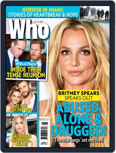 WHO July 12th, 2021 Digital Back Issue Cover