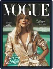 British Vogue (Digital) Subscription August 1st, 2021 Issue