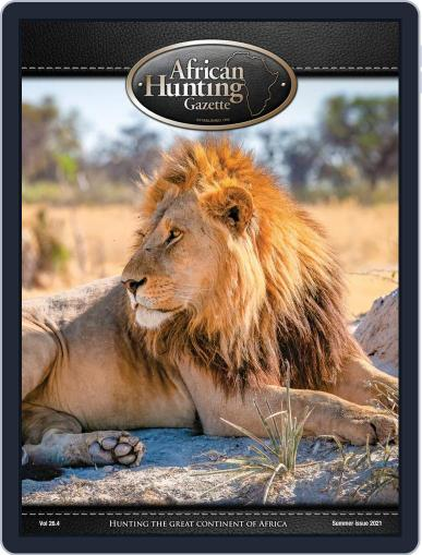 African Hunting Gazette (Digital) April 1st, 2021 Issue Cover