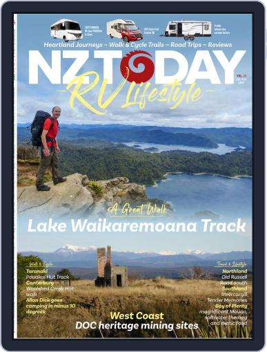 RV Travel Lifestyle (Digital) July 1st, 2021 Issue Cover