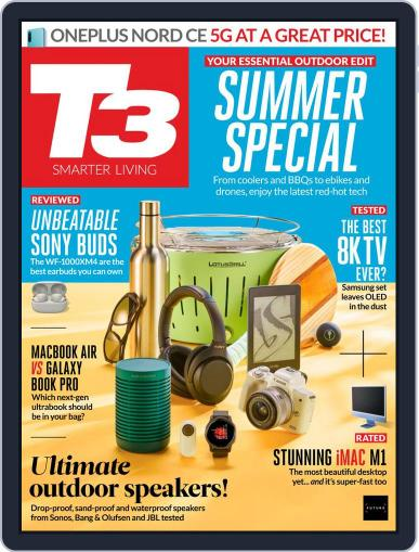 T3 (Digital) July 1st, 2021 Issue Cover