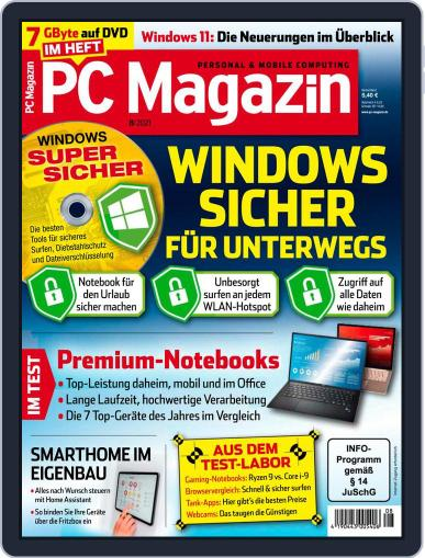 PC Magazin (Digital) August 1st, 2021 Issue Cover