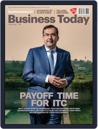 Business Today (Digital) July 25th, 2021 Issue Cover