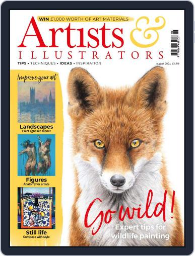 Artists & Illustrators (Digital) August 1st, 2021 Issue Cover