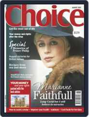 Choice United Kingdom Magazine (Digital) Subscription August 1st, 2021 Issue