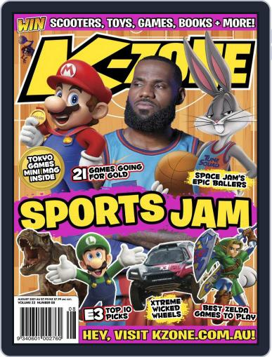 K-Zone (Digital) August 1st, 2021 Issue Cover