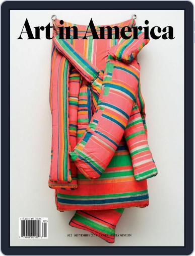 Art in America (Digital) September 1st, 2017 Issue Cover