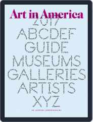 Art in America (Digital) Subscription August 1st, 2017 Issue