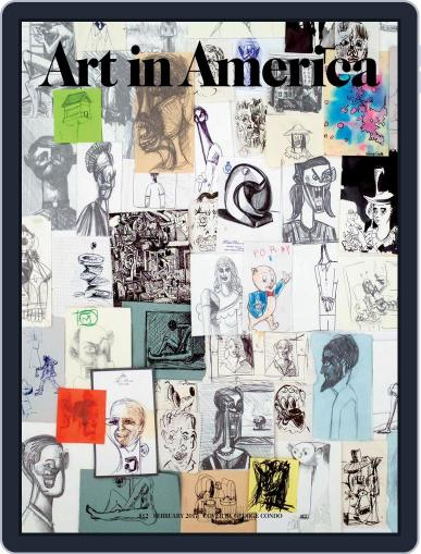 Art in America (Digital) February 1st, 2017 Issue Cover