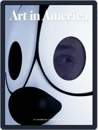 Art in America (Digital) December 1st, 2016 Issue Cover