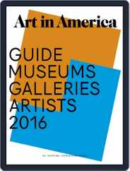 Art in America (Digital) Subscription August 1st, 2016 Issue