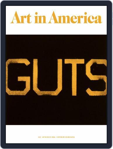 Art in America (Digital) June 6th, 2016 Issue Cover