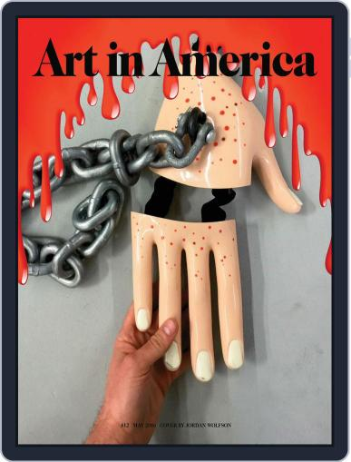 Art in America (Digital) May 4th, 2016 Issue Cover