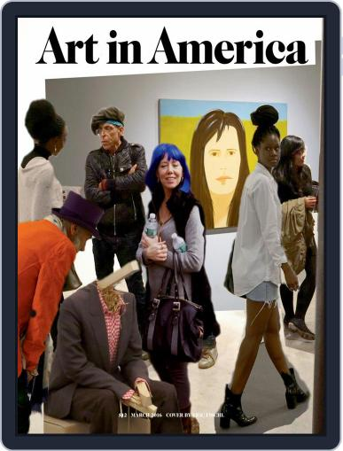 Art in America (Digital) March 1st, 2016 Issue Cover