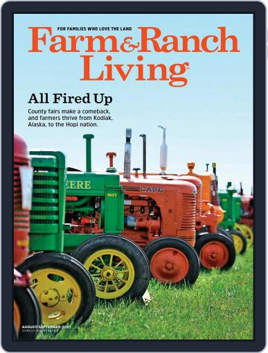 Farm and Ranch Living (Digital) August 1st, 2021 Issue Cover