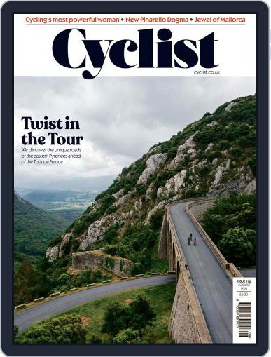 Cyclist (Digital) August 1st, 2021 Issue Cover