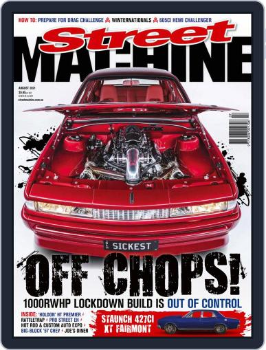 Street Machine August 1st, 2021 Digital Back Issue Cover