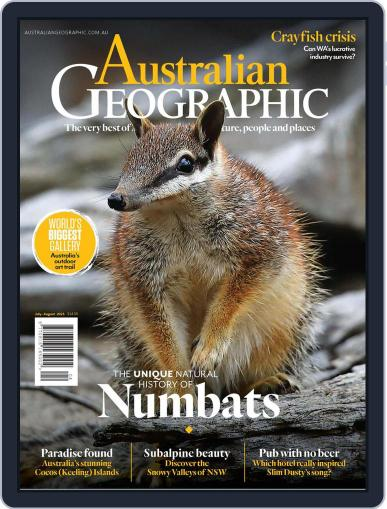 Australian Geographic July 1st, 2021 Digital Back Issue Cover