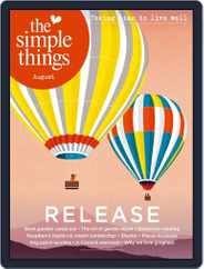 The Simple Things (Digital) Subscription August 1st, 2021 Issue
