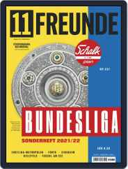 11 Freunde (Digital) Subscription August 1st, 2021 Issue