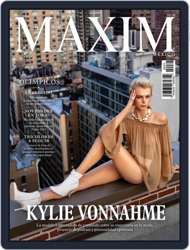 Maxim México (Digital) July 1st, 2021 Issue Cover