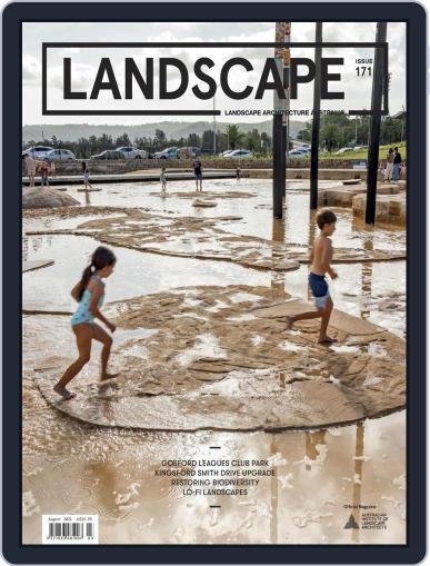 Landscape Architecture Australia (Digital) August 1st, 2021 Issue Cover