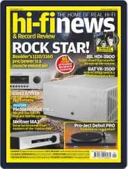 Hi Fi News (Digital) Subscription September 1st, 2021 Issue