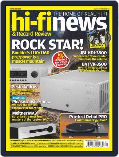 Hi Fi News (Digital) September 1st, 2021 Issue Cover