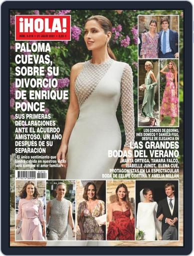 Hola (Digital) July 21st, 2021 Issue Cover