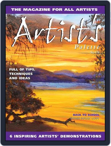 Artist's Palette (Digital) July 1st, 2021 Issue Cover