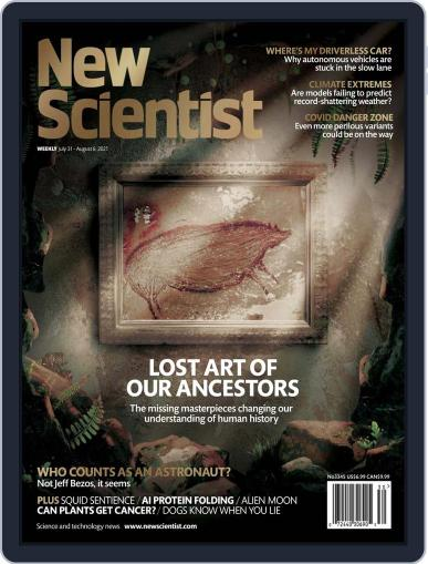 New Scientist (Digital) July 31st, 2021 Issue Cover