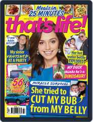 that's life! (Digital) Subscription August 12th, 2021 Issue