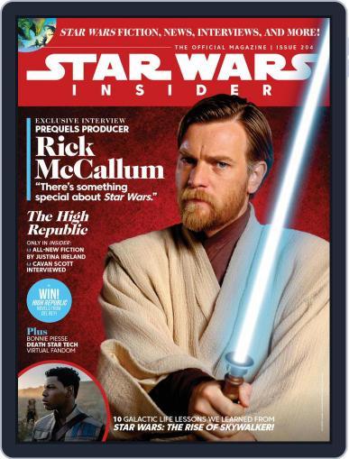 Star Wars Insider August 1st, 2021 Digital Back Issue Cover