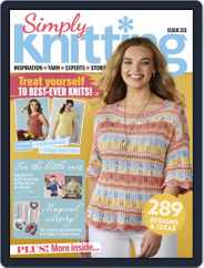 Simply Knitting (Digital) Subscription October 1st, 2021 Issue
